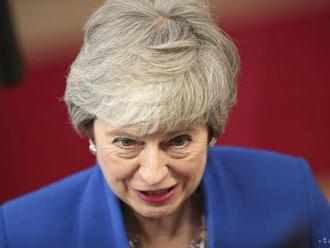 Mayová: Z funkcie budem po neúspechu s brexitom odchádzať sklamaná