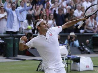 WIMBLEDON: Federer postúpil cez Nadala do finále
