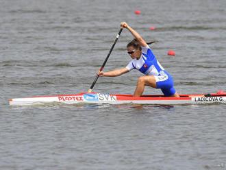 G. Ladičová vybojovala striebro v C1 do 23 rokov na 500 m