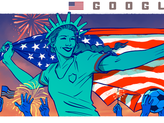 Celebrating Women's World Cup 2019 Champions: the United States of America