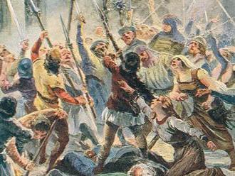 600 let první pražské defenestrace