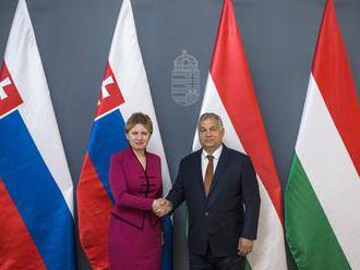 Čaputová s Orbánom vyzdvihli význam Vyšehradskej štvorky