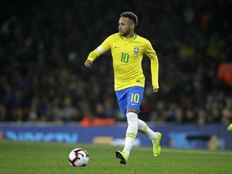 Neymar potvrdil, že zranenie členku je už minulosťou