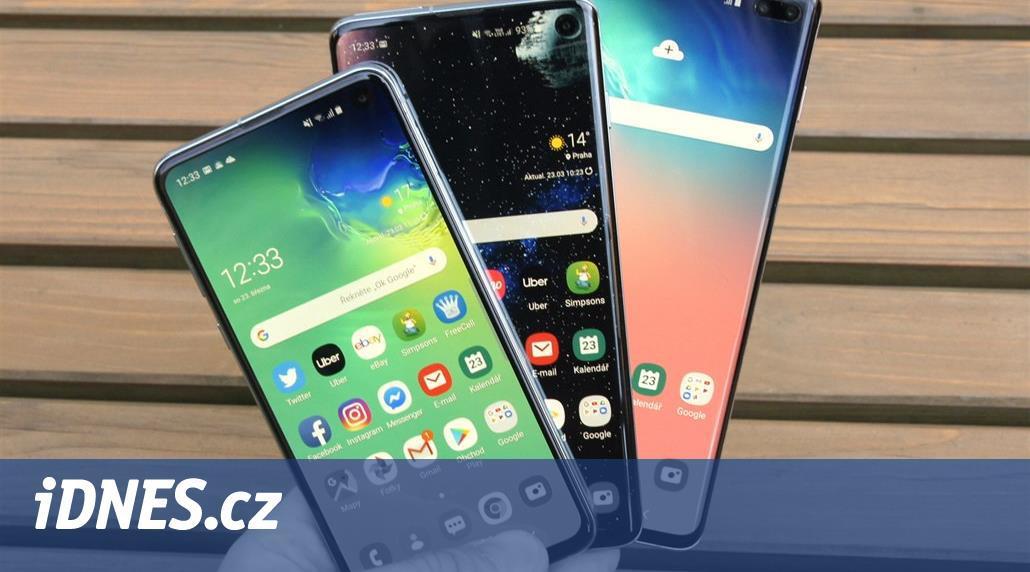Samsung stále vládne Androidu. Galaxy S10+ překonal v prodejích ostatní