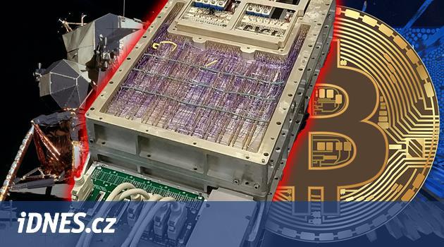 Tento 15bitový počítač dostal člověka na Měsíc. Teď zkouší těžit bitcoiny