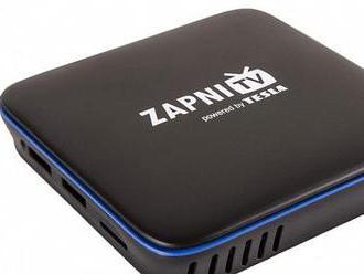 Televizní platforma Zapni.TV představuje 4K set-top box Tesla