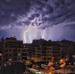 Počasí v Evropě: V Řecku udeří další silné bouřky. Zasáhnou znovu i Chalkidiki