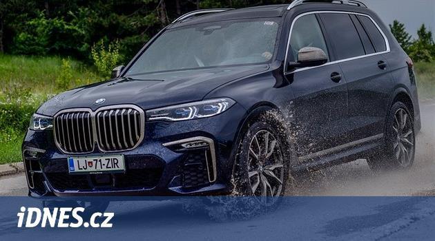 Monstrózní chrám BMW X7. Je v něm místo pro chůvu i tajemníky