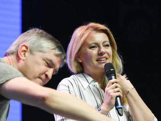 Foto: Zmenila sa mi rola, ale ja som stále tá istá Zuzana, povedala prezidentka Čaputová na Pohode