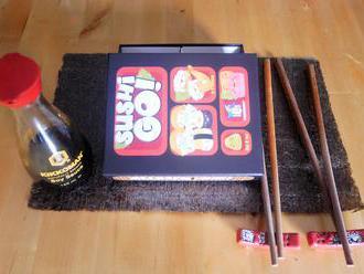 Sushi Go: karetní running sushi - recenze