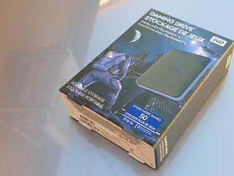 WD Gaming Drive pre PlayStation 4 - recenze