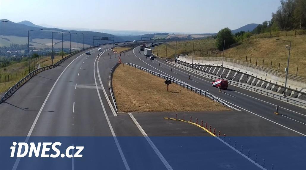 Most dálnice D8 u Prackovic mírně poklesl, oprava potrvá do listopadu