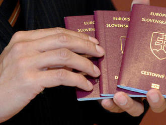 Zákon o štátnom občianstve pripravil doteraz o slovenský pas 2933 ľudí