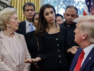 Trump na stretnutí v Bielom dome nespoznal nositeľku Nobelovej ceny mieru