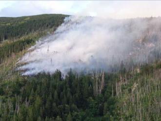 Sólymos: Požiar pri Táľoch spôsobil prírode škodu asi 800-tisíc eur