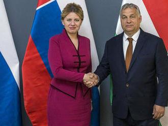 Orbán: Čaputová si ctí Maďarov aj V4, čo je chvályhodné