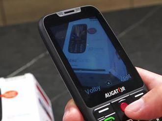 VIDEORECENZIA: Telefón strážiaci život dôchodcov Aligator A890 Senior