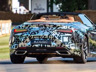Lexus LC Convertible: Otvorená verzia luxusného superšportu je potvrdená