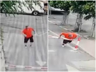Pirueta, skok, myšička a plazenie: Muž sa vypotácal z Miletičky, VIDEO od starostu ženu asi nepoteší