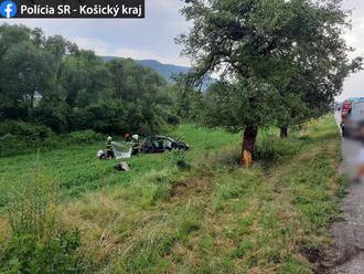 MIMORIADNE Tragédia pri obci Štítnik: Vodič nezvládol riadenie, smrť si vzala spolujazdcov