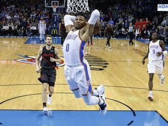 """Hviezdny Westbrook sa stal súčasťou megavýmeny v NBA, """"triple double"""" kráľ opúšťa Oklaho"""
