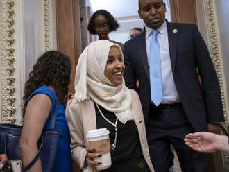 Kongresmanky prešli do protiútoku, Ilhan Omar označila Trumpa za fašistu