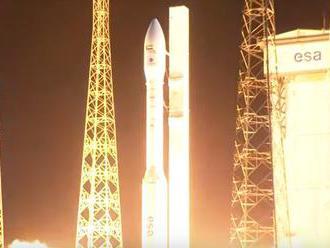 Video: Rakete Vega sa po prvý raz nepodarilo vzlietnuť do vesmíru, krátko po štarte zmizla