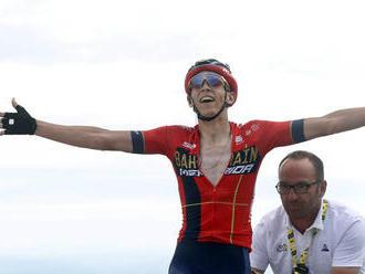 TdF: Teuns triumfoval v 6. etape, do žltého sa prezliekol Ciccone