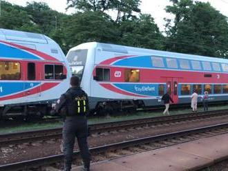 V Česku niekto strieľal na idúci vlak