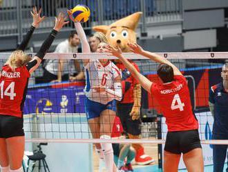 Slovenské volejbalistky sú bez straty bodu, na majstrovstvách Európy si poradili so Švajčiarkami