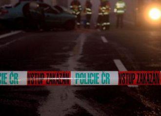 Na Novojičínsku zahynuli při srážce dvou aut čtyři lidé