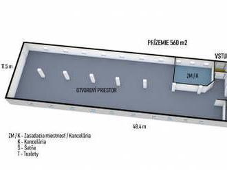 PREDAJ - Komerčný objekt 617 m² na pozemku 1534 m² - Ľubotice