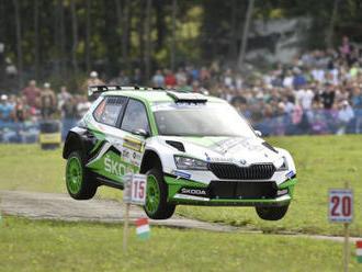 Kopecký míří za dalším triumfem na Barum rallye