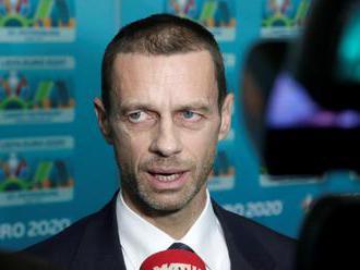 """UEFA odložila stretnutie o zmene formátu, Čeferin: """"Zbierame podnety"""""""