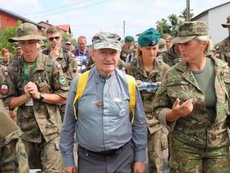 Vojenský ordinár Rábek na vojenskej púti z Varšavy do Čenstochovej