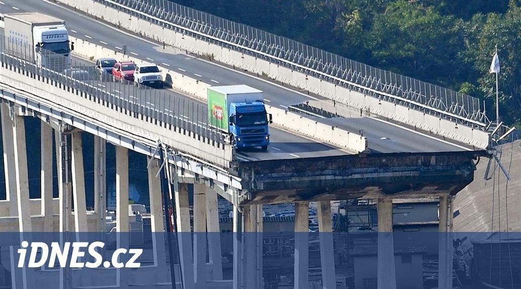NASA píše Italům k výročí tragédie v Janově. Most se hýbal už v roce 2015