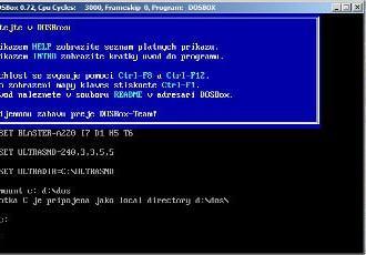 Herní DOS nostalgie pod Vistama