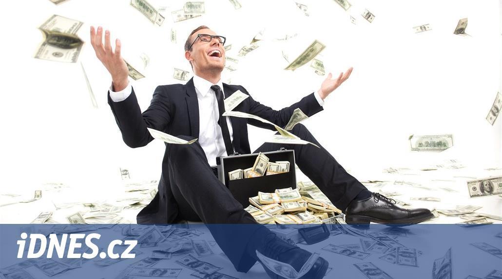 Česko přišlo o část dolarových milionářů. Ubylo jich víc než v Evropě