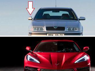 Nová Corvette trpí stejnou zvláštností, jako Škody z přelomu milénia, jen úplně naopak