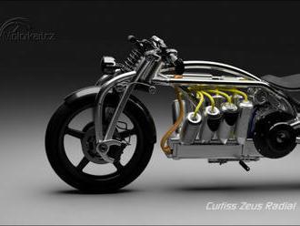 Curtiss má další tři motorky. Zase jen z počítače