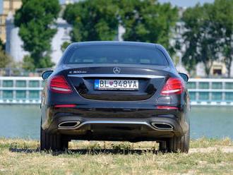 Test: Mercedes E 300de - zatracovaná nafta sa spojila s elektrinou