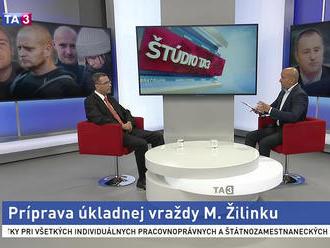 Prokurátor M. Žilinka bol v TA3. Zavraždiť mali aj jeho rodinu