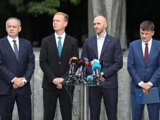 Opoziční lídri žiadajú po Kočnerovej komunikácii: Policajti, prokurátori a sudcovia, nebojte sa!