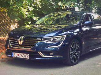 Tento týždeň testujeme: Renault Talisman Blue dCi 200 EDC
