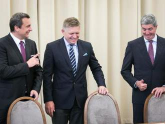 Sme svedkami veľkej sociálnej žne, vyhlásil Fico a poďakoval Dankovi a Bugárovi