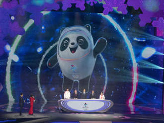 Maskotem zimní olympiády v Pekingu je panda v ledovém obleku