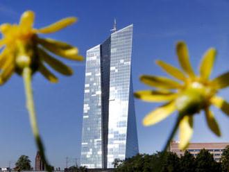 ECB by mohla oznámit nová opatření na podporu ekonomiky