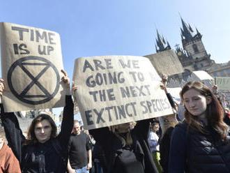 Studenti v Praze se letos popáté sešli na stávce za klima - video