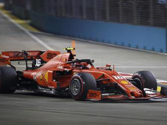 Leclerc si v Singapuru dojel pro třetí pole position za sebou