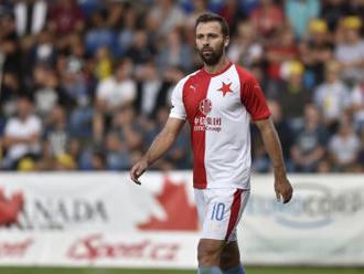 Slavia nastoupí proti Interu v sestavě s Hušbauerem
